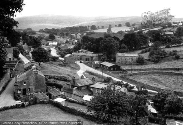 Photo of Crosby Garrett, The Village c.1955