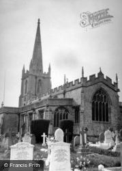 Croscombe, Church c.1950