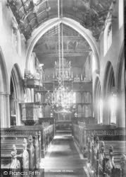 Croscombe, Church Interior 1899
