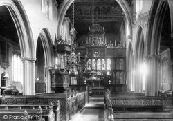 Croscombe, The Church Interior 1899