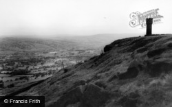 Cross Hills, And Sutton In Craven From Ethel Tower c.1960