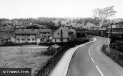 Cross Hills, Station Road And Farn Hill c.1965