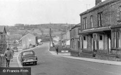 Station Road c.1960, Cross Hills