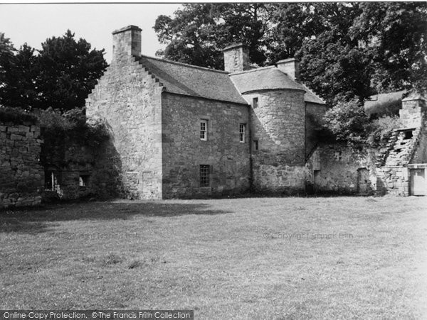 Photo of Crossford, House At Craignethan Castle 1951
