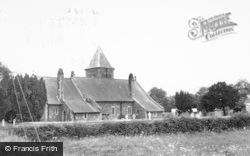 Crossgates, Llanbadarn Fawr Parish Church c.1960