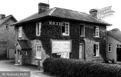 Crossgates, Llanbadarn Hotel c.1965
