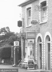 Crossgates, Post Office And Petrol Pump c.1960