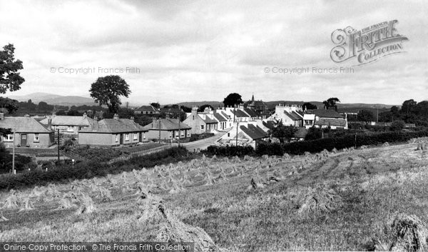 Photo of Crossmichael, The Village c.1960