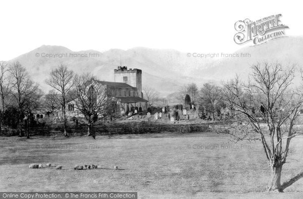 Keswick, Crosthwaite Church  c1870.  (Neg. 1445)  � Copyright The Francis Frith Collection 2008. http://www.francisfrith.com
