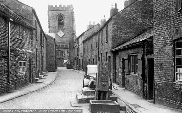 Photo of Croston, Church Street c.1955