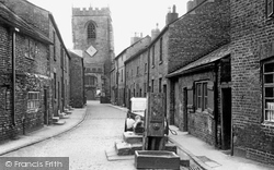 Croston, Church Street c.1955