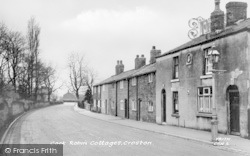 Croston, Cock Robin Cottages c.1950