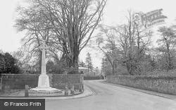 Croston, The War Memorial c.1950