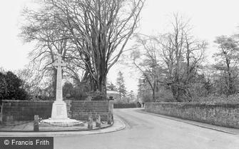 Croston, the War Memorial c1950