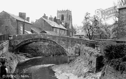 Croston, Town Bridge c.1955