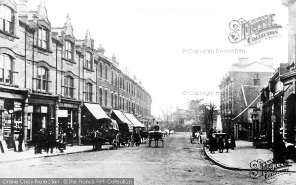 Photo of Crouch End, Broadway c.1890