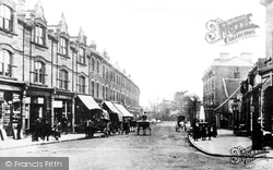 Crouch End, Broadway c.1890