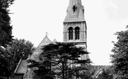 Crouch End, Christ Church, Crouch End Hill c1965