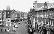 Crouch End, Clock Tower and Broadway c1965