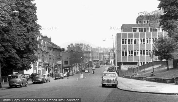 Photo of Crouch End, Crouch End Hill c.1965