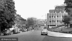 Crouch End, Crouch End Hill c.1965