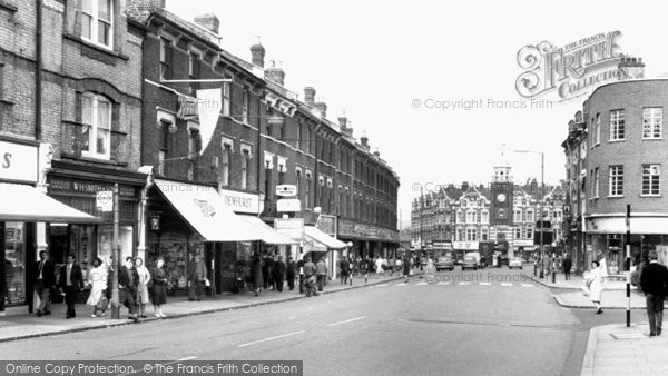Photo of Crouch End, The Broadway c.1965
