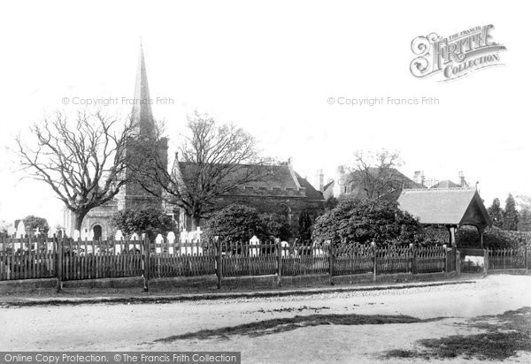 Crowborough, All Saints Church 1900
