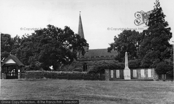 Photo of Crowborough, All Saints Church c.1955