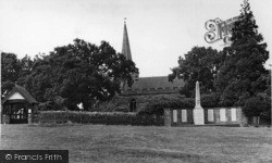 Crowborough, All Saints Church c.1955