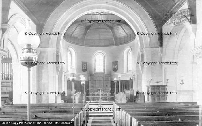 Photo of Crowborough, All Saints Church Interior 1900