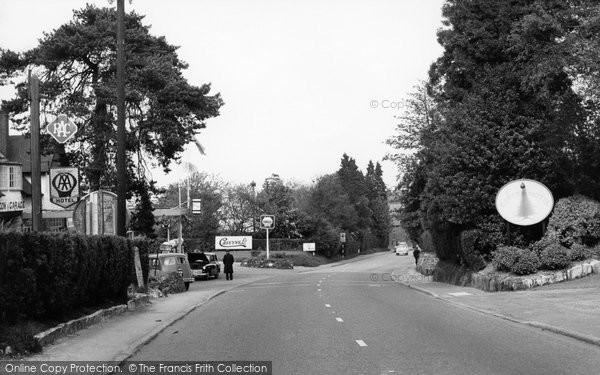Photo of Crowborough, Beacon Road c.1960