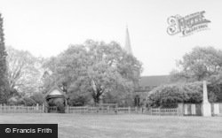 Crowborough, Chapel Green And All Saints Church c.1960