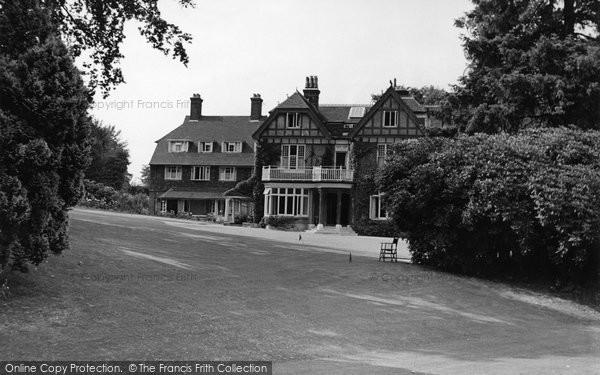 Photo of Crowborough, Country House Hotel c.1955