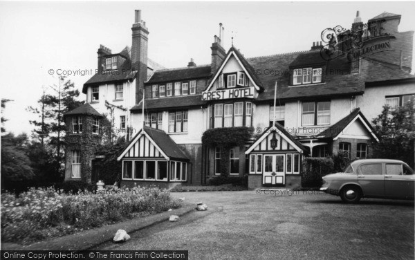 Photo of Crowborough, Crest Hotel c.1960