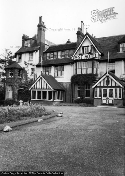 Photo of Crowborough, Crest Hotel c.1960