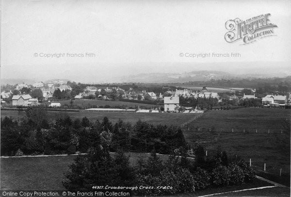 Photo of Crowborough, Cross 1900