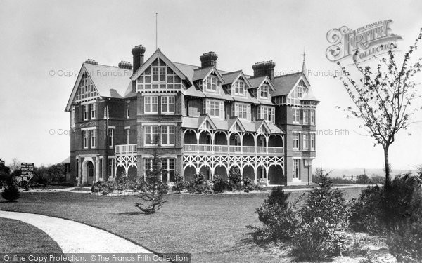 Crowborough, Cross, Beacon Hotel 1900