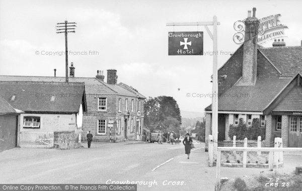 Photo of Crowborough, Cross c.1955