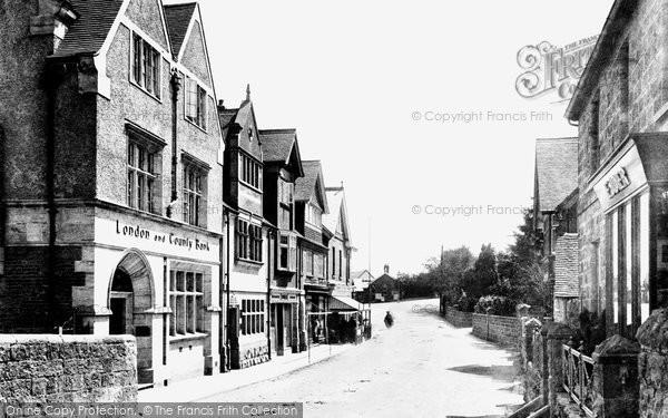 Photo of Crowborough, Cross, High Street 1900