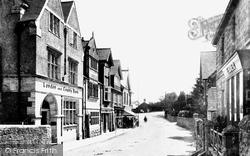 Crowborough, Cross, High Street 1900