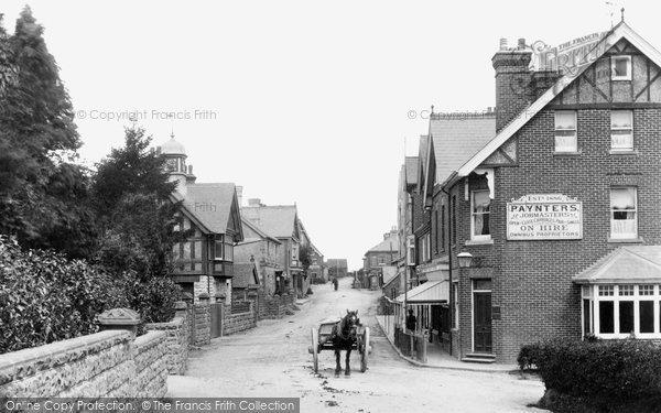 Crowborough, High Street 1900