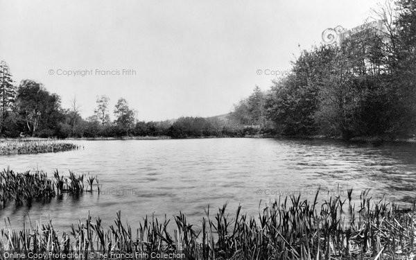 Photo of Crowborough, Cross, Lake At New Mill 1900