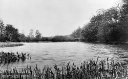 Crowborough, Cross, Lake At New Mill 1900