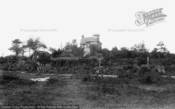 Photo of Crowborough, Cross, Links And Golf Club House 1900