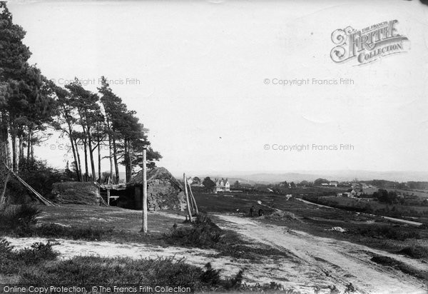 Photo of Crowborough, Cross, On The Common 1900
