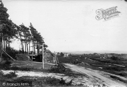 Crowborough, Cross, On The Common 1900
