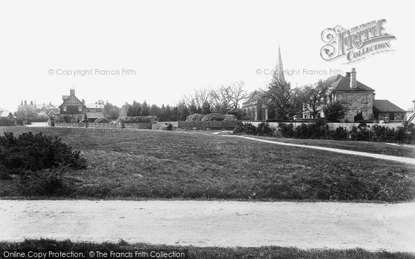 Photo of Crowborough, Cross, The Green 1900