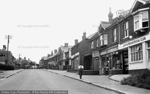 Photo of Crowborough, Crowborough Hill c.1955