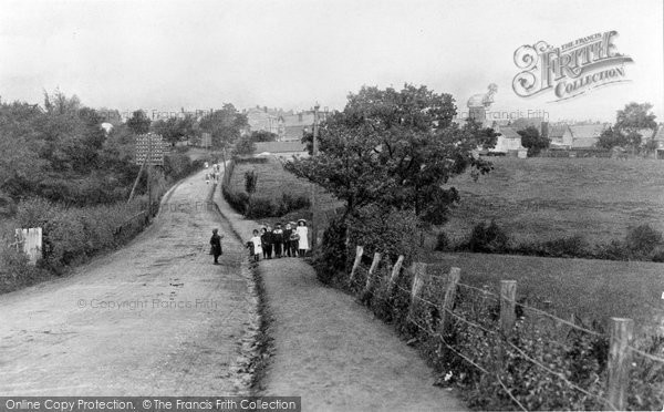 Crowborough, from Station Road c1911