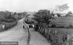 Crowborough, From Station Road c.1911